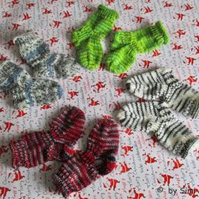 Baby Socks 6ply 8